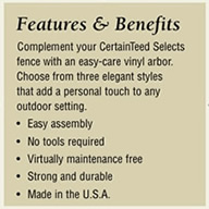 Features and Benefits of Bufftech vinyl fence